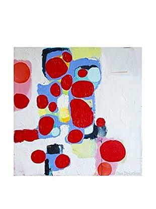 """Claire Desjardins """"Make Plans"""" Embellished Giclée Print"""