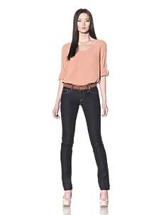 DL 1961 Premium Denim Women's Jessica Skinny Jeans (Eclipse (Dark Blue Wash))