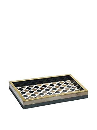 Mela Artisans Inlaid Bone Morocco Decorative Tray