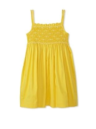Rachel Riley Girl's Smocked 2-Tone Sundress