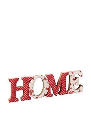 Romantic Style Decoración Pared Home Rojo / Blanco