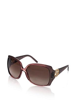 Gucci Women's GG 3503/S Sunglasses, Brown/Mauve