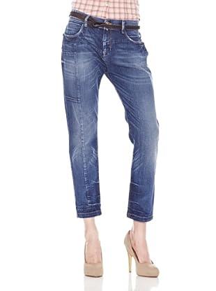 Salsa Jeans Baggy Used (Azul)