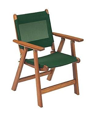 emu Klappstuhl 2er Set 6200 Pantelleria braun/grün