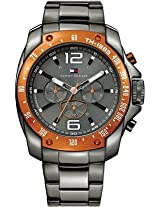 Tommy Hilfiger Grand Prix Analog Watch - For Men - Gunmetal - TH1790869