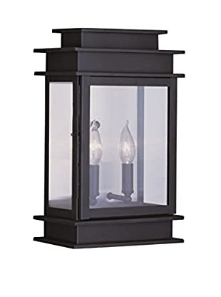 Crestwood Amelia 2-Light Wall Lantern, Bronze