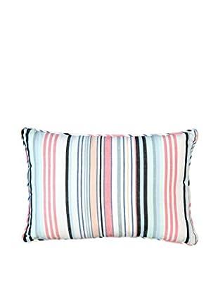 Lene Bjerre Abelia Lumbar Pillow, White/Multi