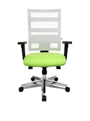 Topstar Bürodrehstuhl X-Pander inkl. Armlehnen (apfelgrün/weiß)