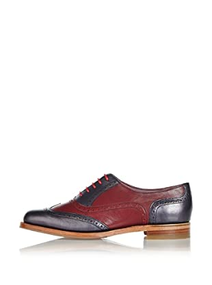 George Webb Zapatos Freya (Azul / Granate)