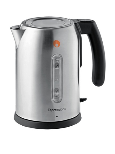 Espressione Stainless Steel Electric Kettle, 1.7-L