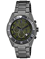Bulova Marine Star Analog Green Dial Men's Watch - 98B206