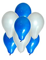 Tiger 50159 Duos Balloons Dual Color Blue & White (Pack of 50)
