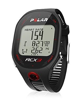 Polar Pulsómetro De Entrenamiento Con Sensor Gps Externo Rcx3M (Negro)