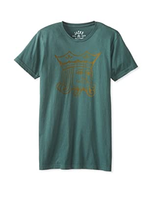 Jacks & Jokers Men's Kingshead Address Tee (Forest green)