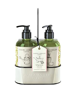 Laura Ashley Gardner's Collection 10.2-Oz. Exfoliating Hand Wash & Lotion Caddy Set