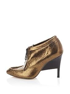 Loeffler Randall Women's Bree Wallaby Ankle Bootie (Bronze)
