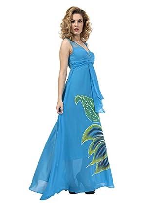 Via Bellucci Vestido Lucía (Azul)