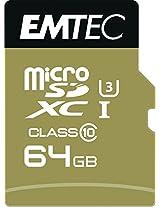 Emtec Speed'In Micro SDCX Card (ECMSDM64GXC10SP)