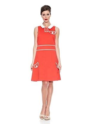 Trakabarraka Vestido Lucilda (Rojo)