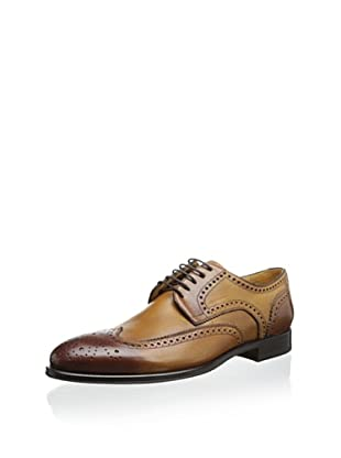 Gordon Rush Men's Brewster Wingtip Oxford (Siena)
