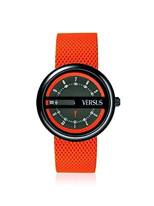 Versus by Versace Women's SGI010013 Osaka Orange/Grey Calfskin Watch