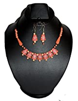 Aanya Creations Colourful Terracotta Necklace Set