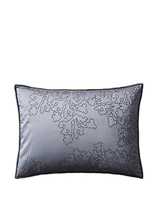 Vera Wang Botanical Stitched Seaweed Pillow, Stone