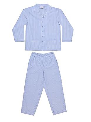 Allegrino Pigiama 100% Cotone Robert Boy (Azzurro)