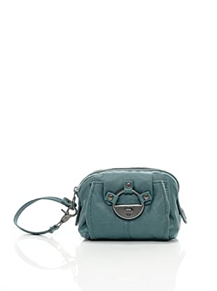 Diesel Lock It In Color Halle, Damen Clutch (Grün (Pacific))