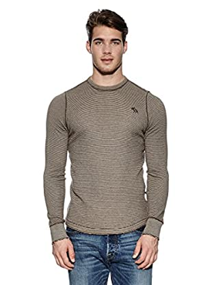 Abercrombie & Fitch Pullover Classic Crew (braun)