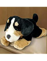 BROWN DOG SOFT TOY - 4.7 INCH