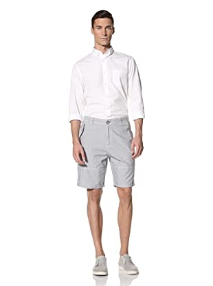 White Picket Fences Men's Almont Chambray Shorts (Stripes)