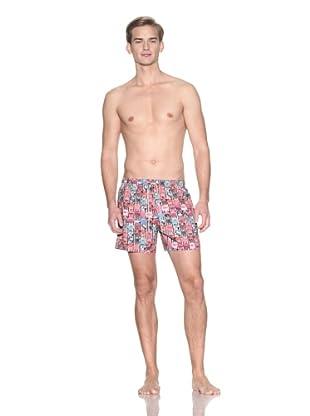 Ted Baker Men's Rekkie Swim Shorts (Red)