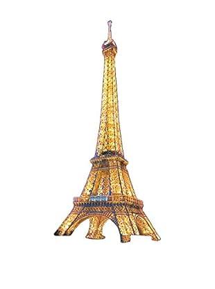 ArtopWeb Panel de Madera Tour Eiffel Eiffel Tower At Dusk