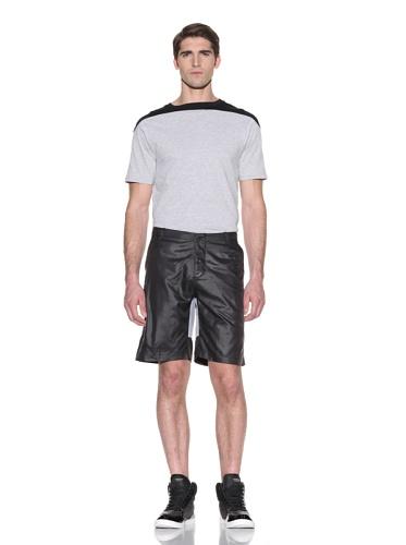 Johannes Faktotum Men's Racing Short (Black/Grey)