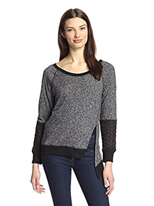 Love Sam Women's Mabel French Terry Sweater
