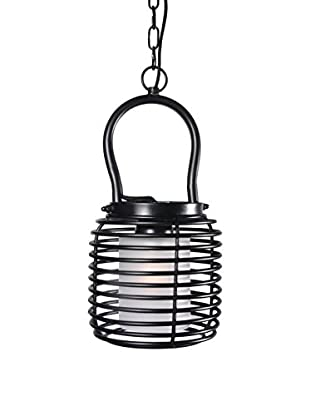 Design Craft Bergen Mini Pendant, Black Finish