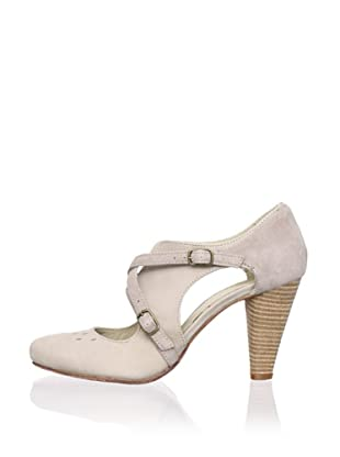 J. Shoes Women's Cherry Pump (Soft Grey/Shell)
