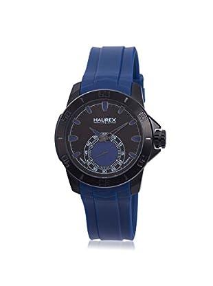 Haurex Men's 3N503UBB Acros Blue/Black Rubber Watch