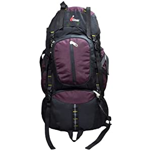 iGear Hiking 60 Litres Black Purple Haversack