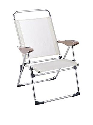 Stuhl 6er Set Schien weiß