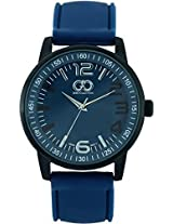 Gio Collection Analog Blue Dial Men's Watch - G0046-03