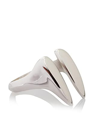 Katie Rowland Lilith Fang Ring (White Rhodium)