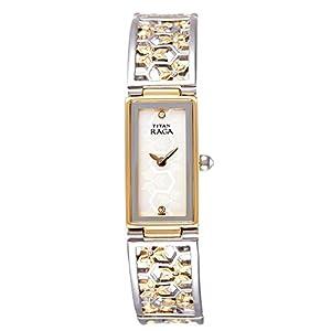 Titan Raga Women's Analog White Dial Watch