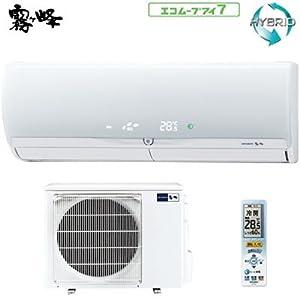 三菱 エアコン 23畳用 霧ヶ峰 ZWシリーズ MSZ-ZW712S-W-SET クリーンホワイト