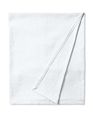 Nautica Twill Cotton Blanket (White)