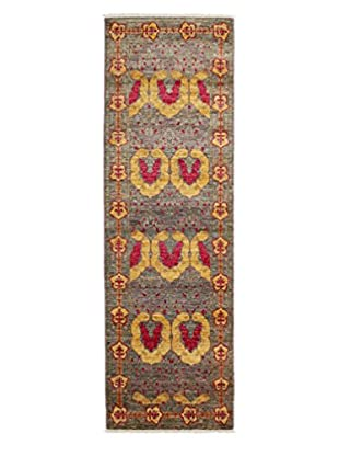 Darya Rugs Arts & Crafts Handmade Rug, Red/Yellow, 2' 8