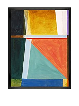 Clive Watts An Abstract Painting III Framed Print On Canvas, Multi, 42.5