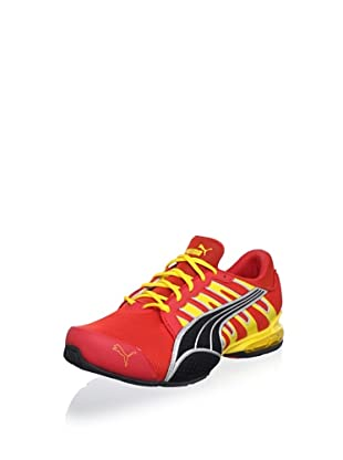 Puma Voltaic 3 NM Running Shoe (Red/Yellow/Black/Silver)