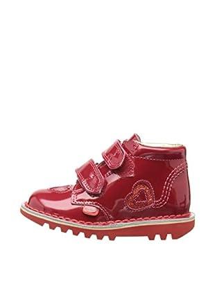 Airborne Footwear Ltd. Botas Indiana (Rojo)
